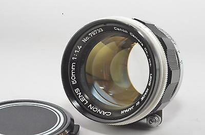 """Canon 50mm F/1.4 Lens for Leica L39 LTM Mount """"Exc+++"""""""