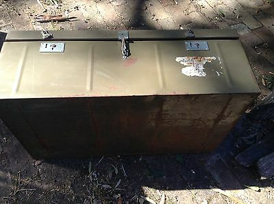 Army Trunk green ,Australian Military Forces issue Vietnam War