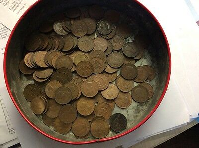 Old Halfpenny Coins