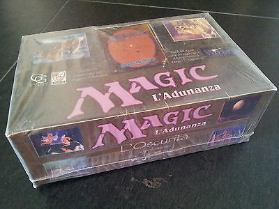 OSCURITA' --- THE DARK --- ITALIAN EDITION - booster Box Magic SEALED