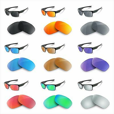 NEWPOLAR Replacement Lenses polarized for oakley two face different colors