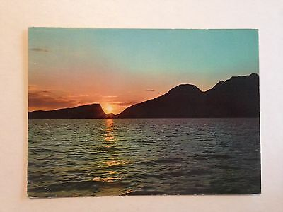 Norway Evening Mood Early Postcard