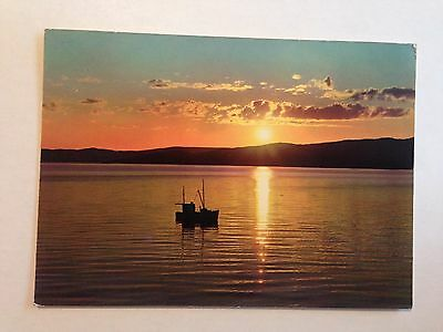Norway The Midnight Sun At Alta Early Postcard