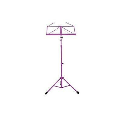 TGI MS20 Music Stand and Carry Case - PINK - CLEARANCE SALE!!