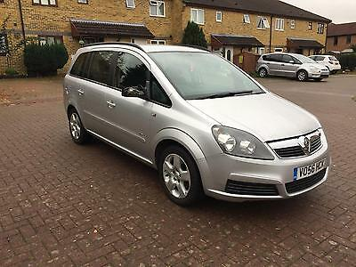 2006 Vauxhall/Opel Zafira 1.6i 16v ( a/c )  Club + Service History and Long MOT