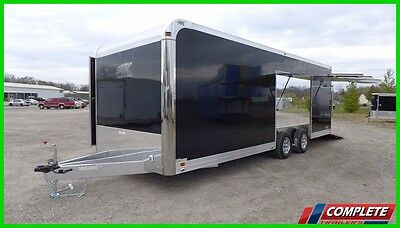 IN STOCK 8.5 X 24 Aluminum ATC CH205 Enclosed Carhauler Cargo Trailer: VIDEO