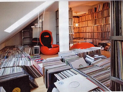 Techno, Tech House & Minimal 1999 - 2010 Vinyl Record Collection Changed to MP3