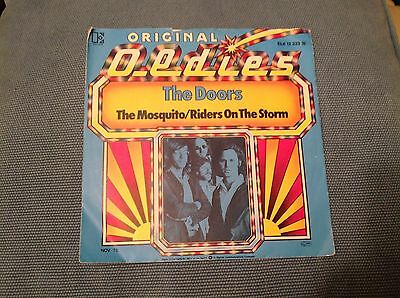 """The Doors - The Mosquito/riders On The Storm    Vinyl 7"""" Single"""