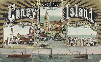 CONEY ISLAND, NEW YORK Greetings From