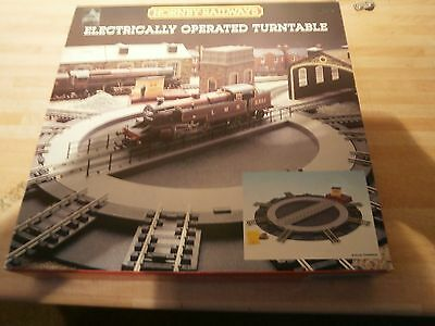 hornby electrically operated turntable NEW