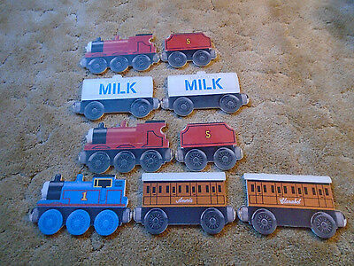 9 Thomas & Friends Train Cut Outs For Decorating Childs Room