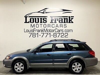 2005 Subaru Outback 2.5 i ONE OWNER! 2.5i 5 SPEED! CLEAN CARFAX! BEST ON EBAY! FULLY SUBARU SERVICED!