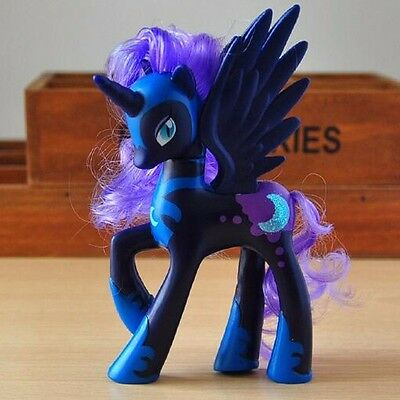 14cm Moon Princess Luna My Little Pony Cake Toppers Doll Action Figure Toy A