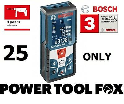 10 ONLY.. Bosch GLM 50 C PRO Laser Measure Bluetooth 0601072C00 3165140822909