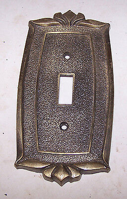 Vintage Mid Century Modern Cast Metal SWITCH COVER - Donner Brand USA