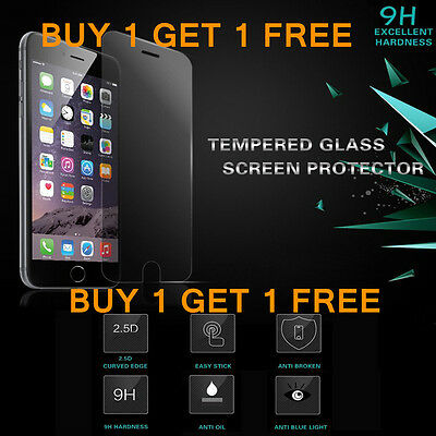 Genuine Tempered Glass Screen Protector Protection For Apple iPhone 6S - NEW