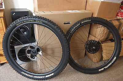 Light Bicycle 650b carbon wheelset, Hope Pro 2 Evo hubs (142x12, 15mm)