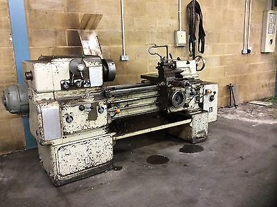 Boehringer Vdf Centre Lathe With Spare Chucks And Associated Tooling