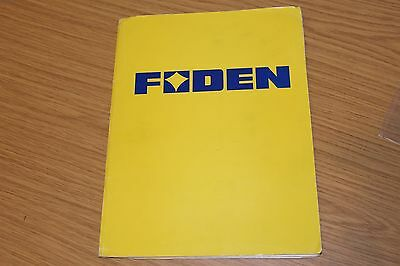 Foden Lorries 1974 Press Pack Very Comprehensive