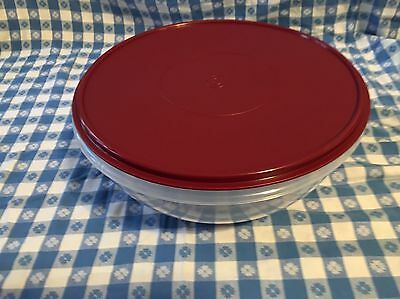 Tupperware Classic Fix-N-Mix Mixing Bowl (26-cup) with Bordeaux Seal - NEW!
