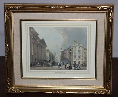 "Vintage Framed Print ""Mansion House and Cheapside"" Thomas Shotter Boys  [PL2667]"
