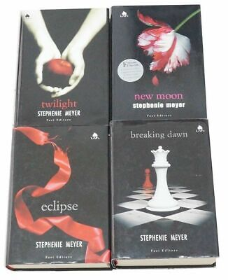 TWILIGHT Saga COMPLETA di Stephenie Meyer 4 volumi, I° Ed. Fazi