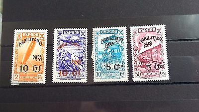 Spanish  Stamps--Misc Selection,opt Habilitado..