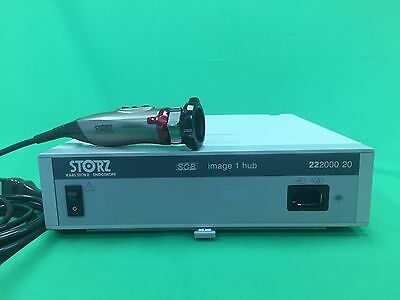 Karl Storz SCB Image 1 Hub Camera System w/A3 Autoclavable Camera Head