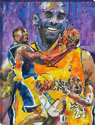 Painting by Number kit Kobe Bryant Shooting The Ball Basketball Star NBA HT7088