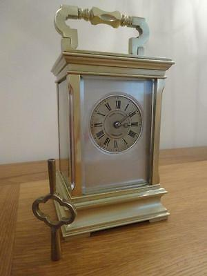 Unusual, superb antique French carriage clock, c. 1885/90 - fully restored 11/16