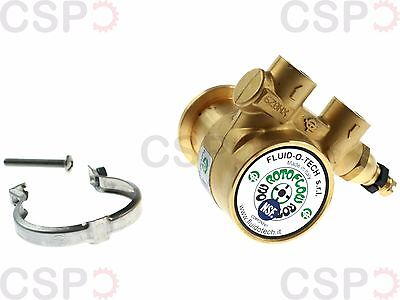 """Pump head PA104 FLUID-O-TECH, L:82mm, 100l/h connection 3/8"""" GAS with bypass"""