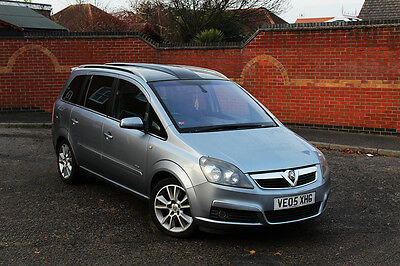 Vauxhall Zafira Design 1.9 Cdti Low Miles! Panoramic Roof! 7 Seater Mpv Galaxy