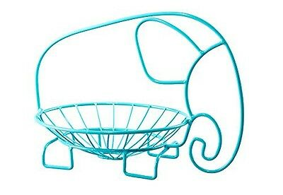 Clever Chef Fruit Bowl Elephant Shaped Party Centerpiece Stainless Steel Wire