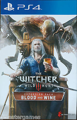 The Witcher 3 Blood And Wine Ps4 Expansion Pack Dlc Code