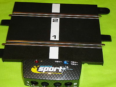 Scalextric *NEW* 1/32 Sport Power Base (Round plugs)