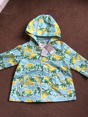 Bnwt Next Girls Shower Resistant Coat Age 2-3 Years