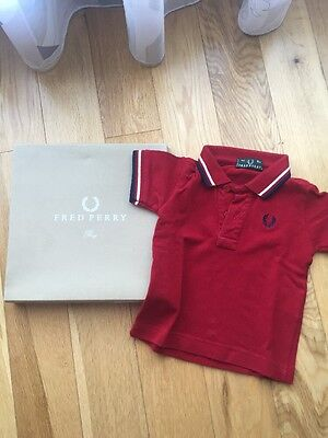 Polo Fred Perry 6 Mesi