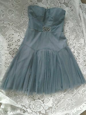 Monsoon special occasion dress, prom style size 12 blue