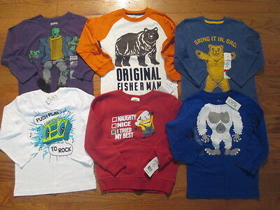 6 piece LOT of little boy fall/winter clothes size 4 NWT