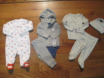 5 piece LOT of baby boy fall/winter clothes size 3 months NWT