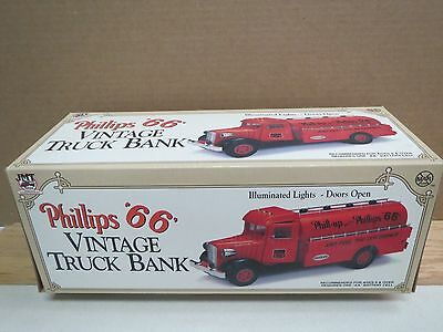 PHILLIPS 66 VINTAGE TRUCK BANK by MARX for JMT Replicas