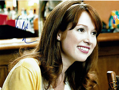 Ellie Kemper American Actress The Office US Hand Signed Photograph  10 x 8