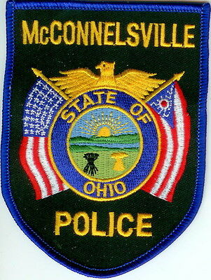 Mc Connelsville Police Ohio Patch NEW