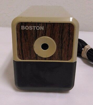 Boston 296A Electric Pencil Sharpener Model 18 USA Made - Works Great!