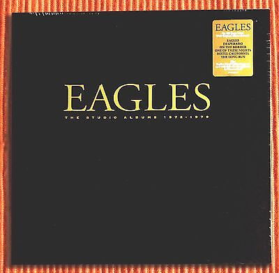 EAGLES THE STUDIO ALBUMS 1972-1979  Numbered Limited Ed. 180g 6LP Box Set SEALED