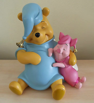 Large Winnie The Pooh and Piglet statue - 31 cm / 12 inches - Disney