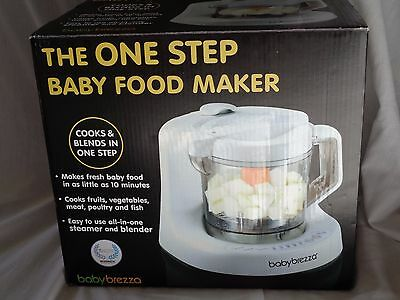 NEW! Baby Brezza Baby Food Processor One Step and Steamer!