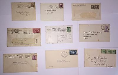 9 Covers - 1916 to 1947