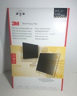 "Inspected 3M 21.3"" Black Privacy Filter E3"