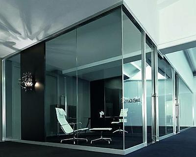 Toughened Glass Partitioning Customised to Any Size or Colour - 10MM